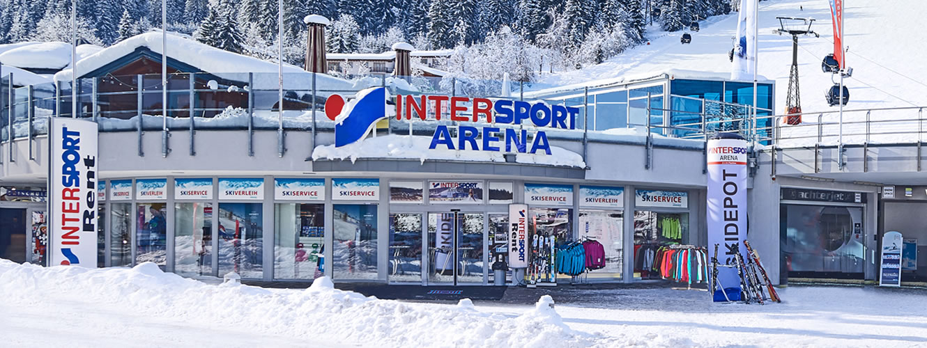 Sportshop & Skiverleih Intersport Arena Flachau